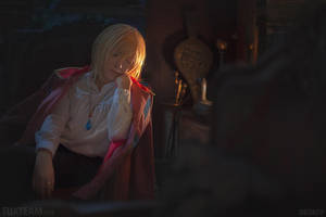 Howl's Moving Castle: Warmth of a Fire Demon by behindinfinity