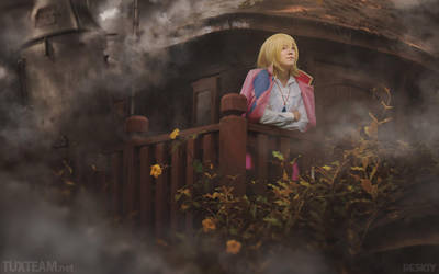 Howl's Moving Castle by behindinfinity