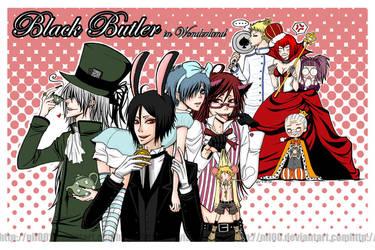 Black Butler in Wonderland by nil00