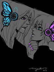 Vocaloid: Gakupo x Kaito by nil00