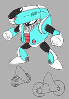 Charge Man redesign by pc-engine