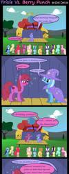 Trixie Vs. Berry Punch by Evil-DeC0Y