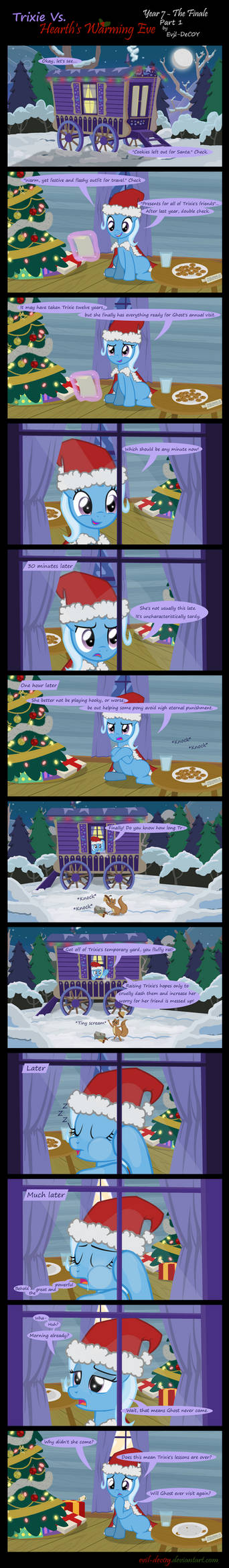 Trixie Vs. Hearth's Warming Eve: Finale (Part 1) by Evil-DeC0Y