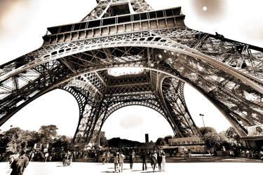 Paris - Eiffel Tower in HDR by Bifford