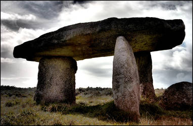 Stones in Cornwall - HDR by Bifford