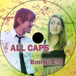 ALL CAPS CD Design by moonlitmists