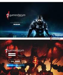 gamesforum - Start/Login by RomiSh