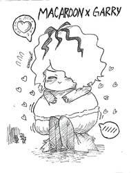 Macaroon x Garry  by KuroCera