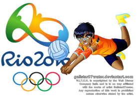 Taranee at the 2016 Rio de Jeinaro Olympics by Galistar07water