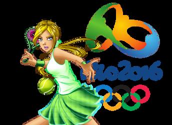 Cornelia at the 2016 Rio de Jeinaro Olympics by Galistar07water