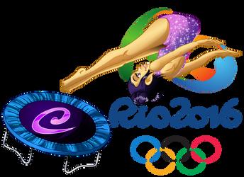 Hay Lin at the 2016 Rio de Jeinaro Olympics by Galistar07water