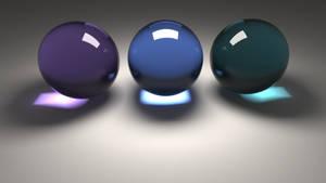Glass Spheres by JoaoYates
