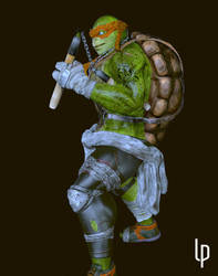 Mikey TMNT by leoincba