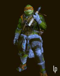 Michelangelo Ninja Turtles by leoincba