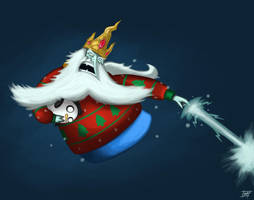 Christmas Ice King by CannonMatt
