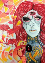 Black Widow by BlueOpallec