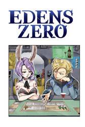 Edens Zero cover chapter 12 by genezizpa