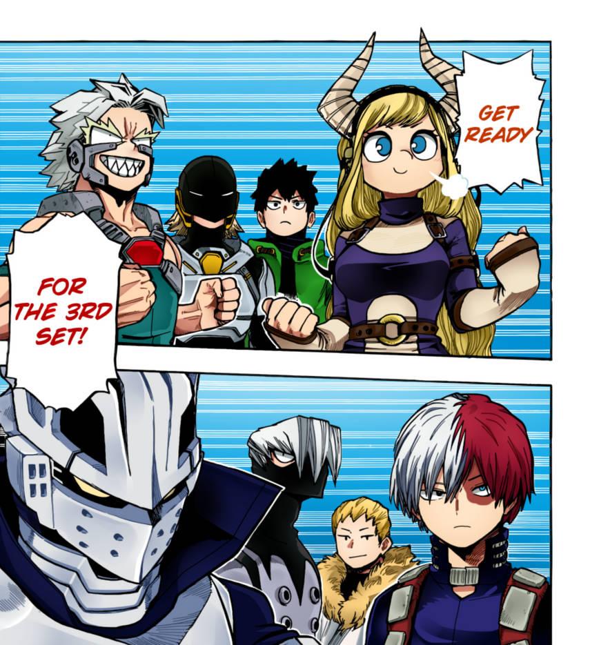 Boku No Hero Academia: Chapter 202 by genezizpa
