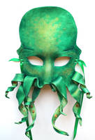 Green Octopus Cthulhu Krakken by OakMyth