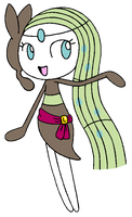 HoND2: Meloetta: Colored by Wanda92
