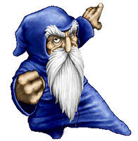 Merlin's Revenge: old fanart. by SteMega