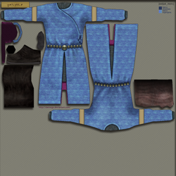 Seljuk mercenary: Texture by SteMega