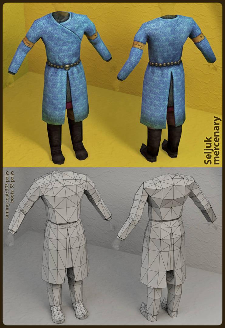 Seljuk mercenary: Render by SteMega