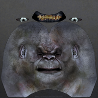 Uruk-hai heads: Sample head texture. by SteMega