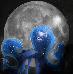 Princess Luna by Naokenobi