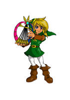 Oracle of Ages Link by UltimateIfrit