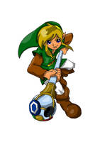 Oracle of Seasons Link by UltimateIfrit