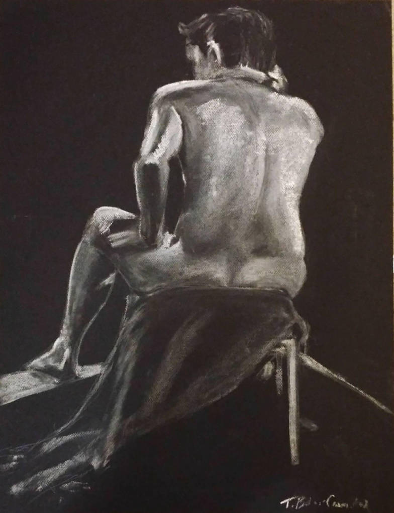 Figure Drawing 2 by t-essart