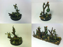 Garden of Nurgle and Nurglings by WellOfEternity