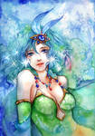 Rydia by jurithedreamer