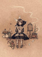 Girl Alice by jurithedreamer