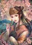 Konohana Sakuya Hime by jurithedreamer