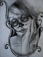 Sugar Skull Mother by CHoldsworth