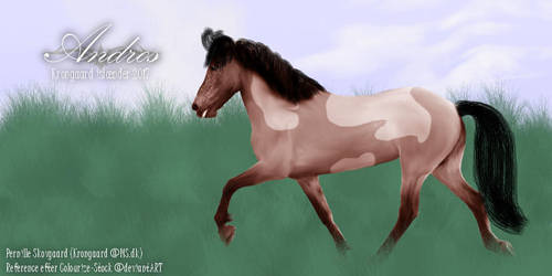 Andros - Icelandic Horse [DIGITAL PAINTING] by cutedeviantfangirl