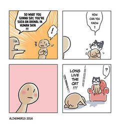 shortcomic 319- animal by Alzheimer13