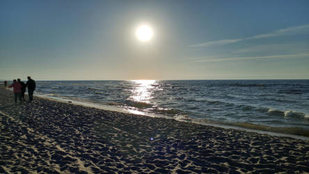 Sunset at the Baltic Sea by ThisIsInternet