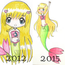 Comparing my art by lolicandy-cake