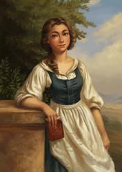 Belle portrait by GreyAnnis
