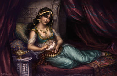 Jasmine by GreyAnnis