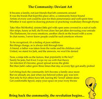 The Community: Deviant Art by GreyWolf2090