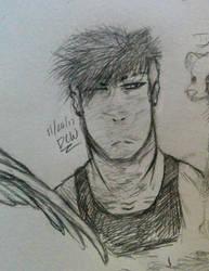 Ezekiel doodle by DrCrazyWolf