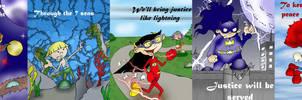 Kids Next Door-Justice League by alfredofroylan2