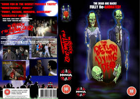 The Return of the Living Dead Animated Movie by craigyule