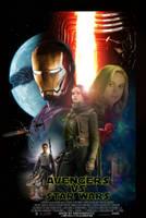 Avengers vs Star Wars movie poster  by ArkhamNatic