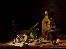 Vintage still-life by MarkScheider