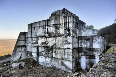 Old nuclear bunker by ohlopkov